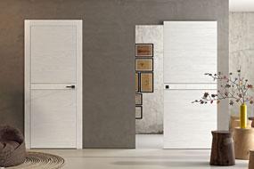 Porte da interno legno laminato residenziali provincia di milano monza brianza Bonomo Chiusure