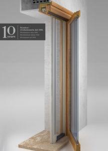Zanzariera retrattile flessibile per portafinestra provincia milano monza brianza
