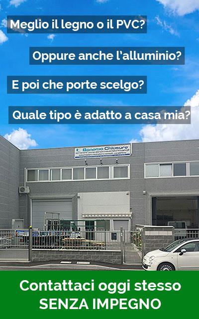 Bonomo chiusure serramenti in pvc provincia di milano