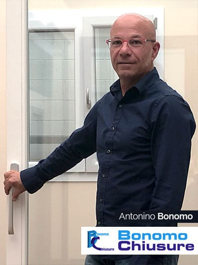 Antonino Bonomo - Fondatore della BonomoChiusure - Cesate (Milano)