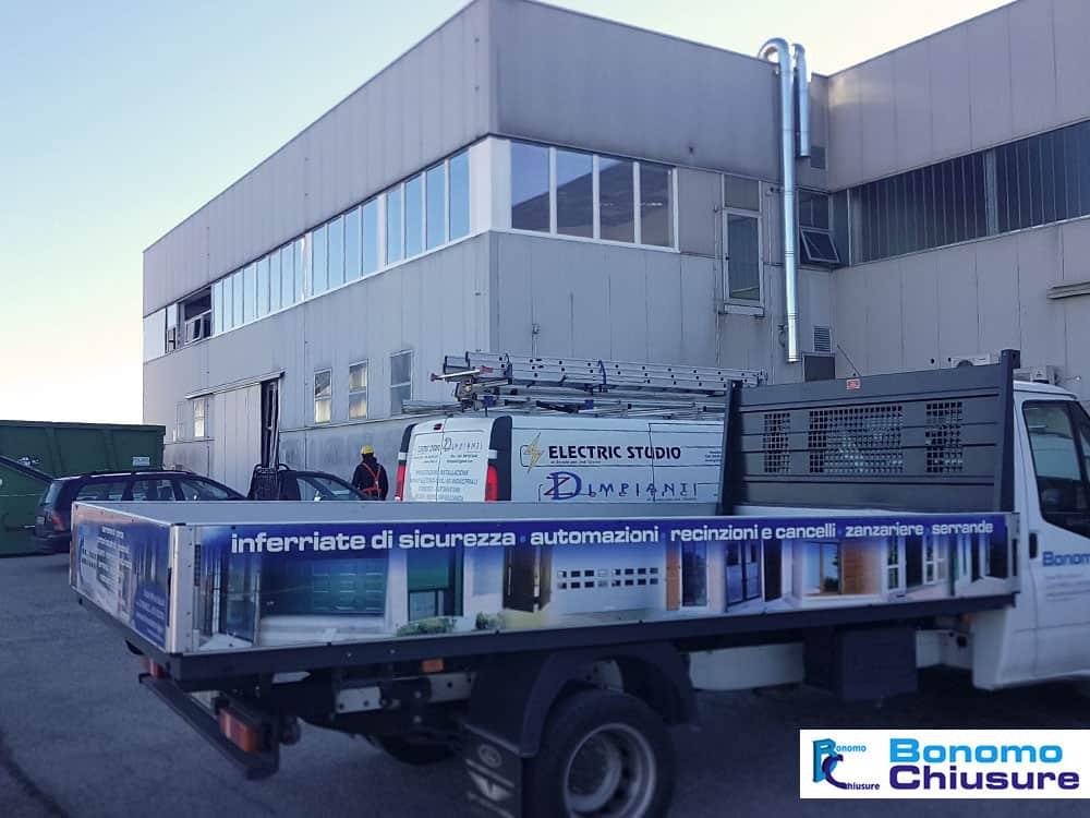 Installazione serramenti in alluminio pvc uffici industriali provincia milano